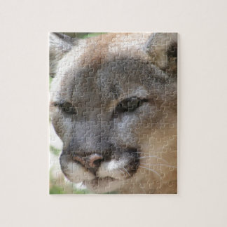 Annoyed Mountain Lion Jigsaw Puzzle