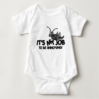 Annoying Cricket Baby Bodysuit