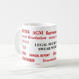 Annoying Funny Legal Secretary Swear Words Coffee Mug