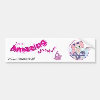 Ann's Amazing Adventure Sticker