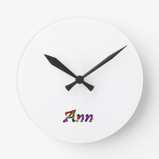 Ann's wall clock