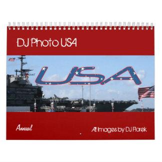Annual DJ PhotoUSA Calendar