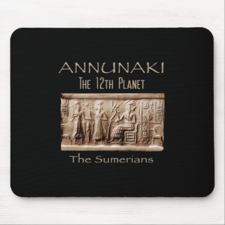 ANNUNAKI 12th Planet Nibiru Mouse Pad