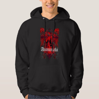"Annunaki Custom ""Angel"" Black Hoodie"