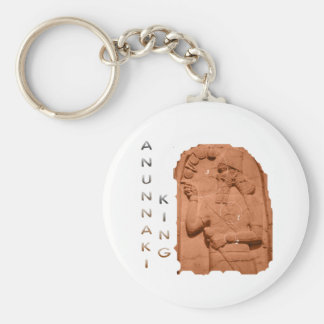 Annunaki King brown Keychain