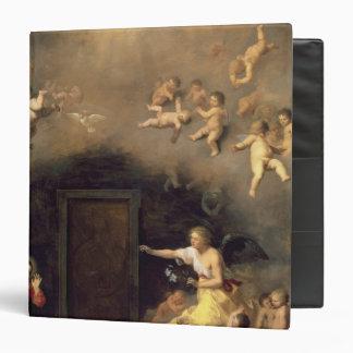 Annunciation, 1635 vinyl binder