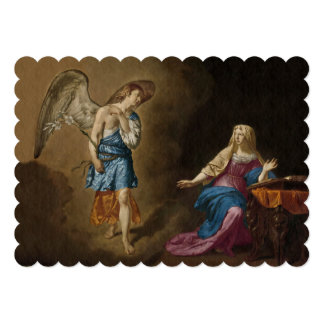 Annunciation Angel and Mary Card