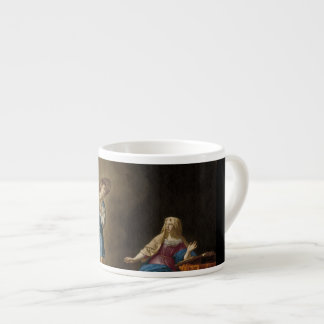 Annunciation Angel and Mary Espresso Cup