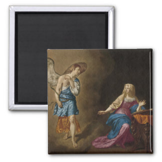 Annunciation Angel and Mary Magnet