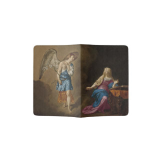 Annunciation Angel and Mary Passport Holder