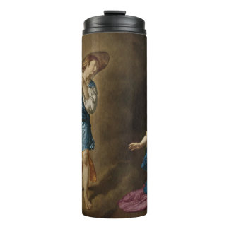 Annunciation Angel and Mary Thermal Tumbler