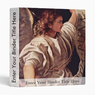Annunciation Angel By Tizian (Best Quality) Binder