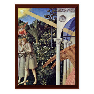 Annunciation  By Angelico Fra Postcard