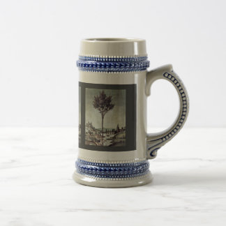 Annunciation  By Botticelli Sandro (Best Quality) Beer Stein