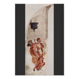 Annunciation  By Pontormo Jacopo Poster