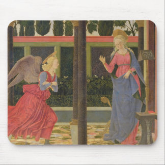 Annunciation, c.1457 (tempera on panel) mouse pad