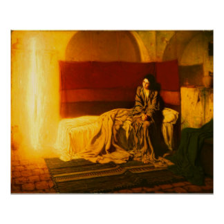 Annunciation - Henry Ossawa Tanner Poster