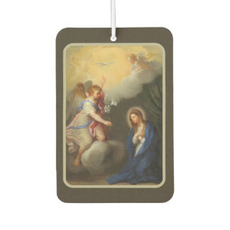 Annunciation of Mary Archangel Gabriel Air Freshener