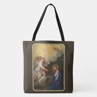 Annunciation of Mary Archangel Gabriel Tote Bag