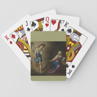 Annunciation of Mary, Velde Playing Cards