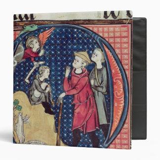 Annunciation to the Shepherds Vinyl Binder