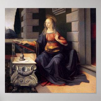 Annunciation - Virgin Poster