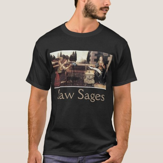 AnnunSAWation of the virgin Saw Sage T-Shirt