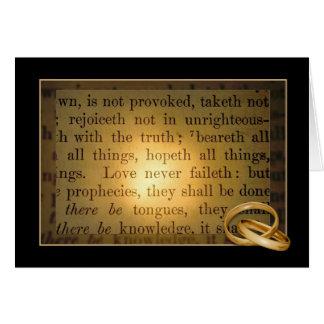 Annviersary Bible Verse Card