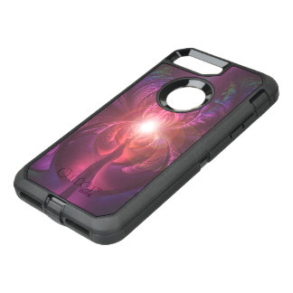 Anodized Eyes and Fractal Oxide Peacock Feathers OtterBox Defender iPhone 8 Plus/7 Plus Case