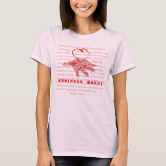 """Anointed Hands"" Christian T Shirt"