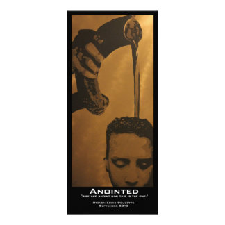 """""""Anointed"""" Value Bookmarks Rack Card"""