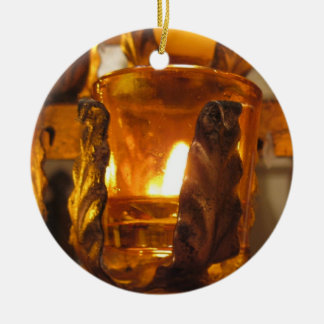 Anointing Of The Sick Round Ceramic Ornament
