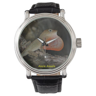 Anole Wristwatch: Anolis marcanoi Watch
