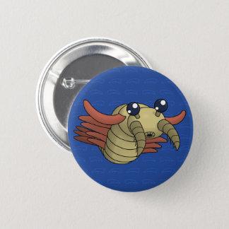 Anomalocaris the Unusual Shrimp 2 Inch Round Button