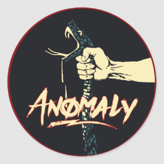 """Anomaly"" of The Fountain 3"" Stickers"