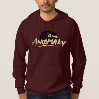 """""""Anomaly"""" of The Fountain Burgundy Hoodie"""