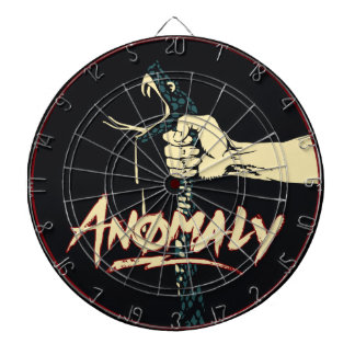 """""""Anomaly"""" of The Fountain Metal Cage Dart Board"""