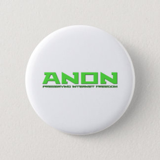 Anon Preserving Internet Freedom 2 Inch Round Button