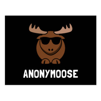 Anonymoose Postcard
