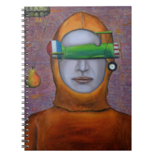 Anonymous 2 spiral note book