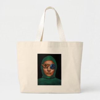 Anonymous 3 large tote bag