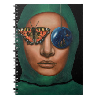 Anonymous 3 spiral notebook
