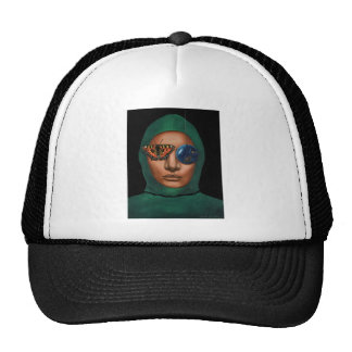 Anonymous 3 trucker hat