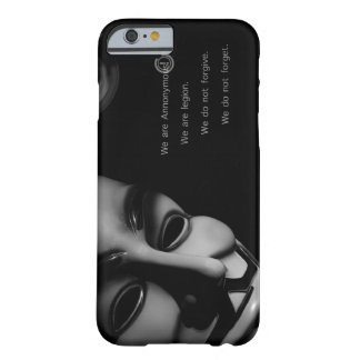 ANONYMOUS BARELY THERE iPhone 6 CASE