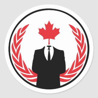 Anonymous Canada Sticker