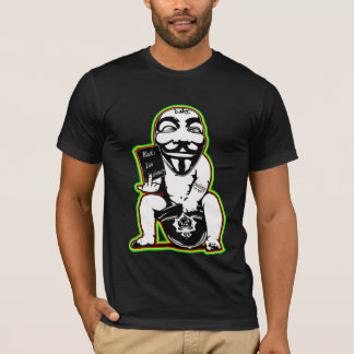 Anonymous Common Law Graffiti t shirt by DMT