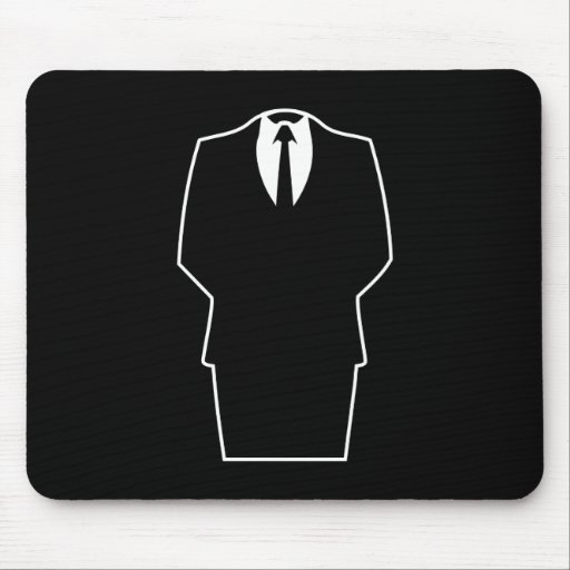 anonymous icon internet 4chan SA Mouse Pad
