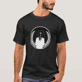 Anonymous International Dark Male T-Shirt