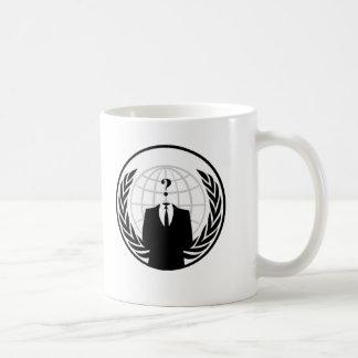 Anonymous International Logo Basic White Mug