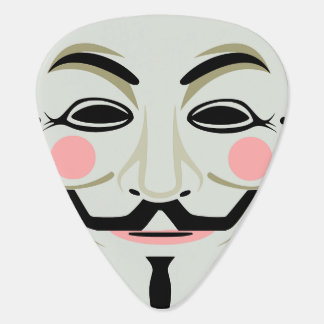 Anonymous Mask Guitar Pick